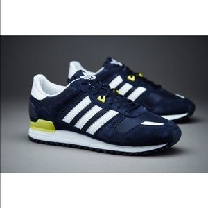 the latest 1c769 2968b Adidas Shoes | Zx 700 Sneakers Legend Ink Solar Yellow | Poshmark