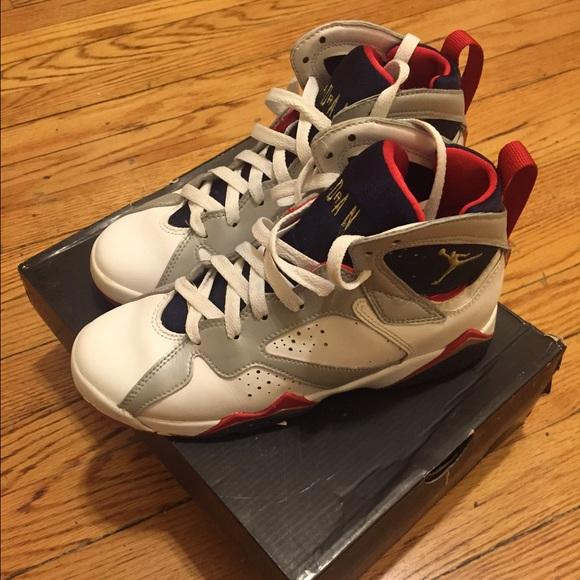 50cc53ebc3249d Jordan Shoes - Air Jordan 7 Retro (GS) Olympic Size 4.5