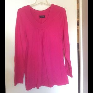 Lane Bryant Sweaters - Clearance‼️ Hot pink Lane Bryant sweater