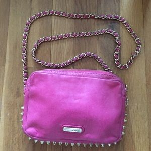 Rebecca Minkoff Pink leather cross body