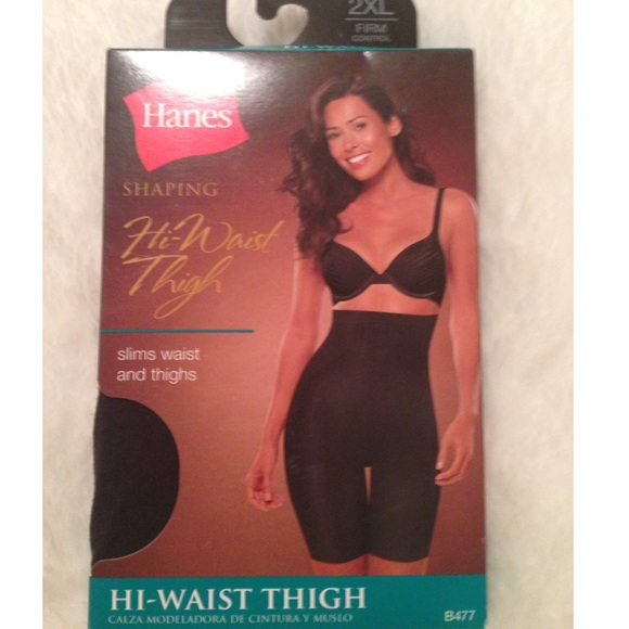 86e80fc6e42c1 Black High Waist Thigh Shaper NWT