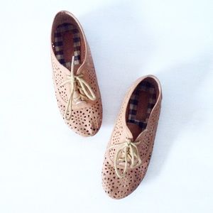 laser cut out shoes