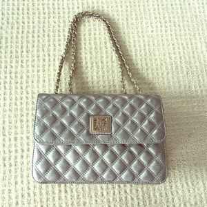 Anne Klein quilted handbag