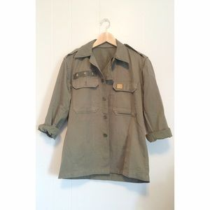 Vintage army jacket~!