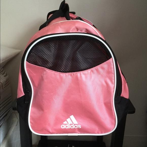 e15e84659eba Buy adidas duffle bag pink   OFF64% Discounted