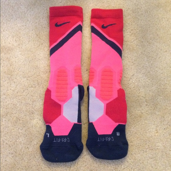 leopard nike elite socks