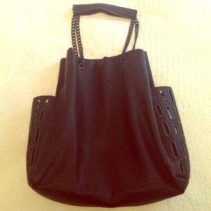 Zara black shoulder bag