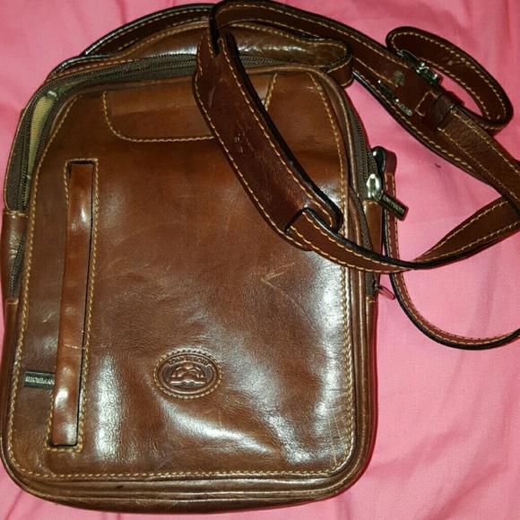 8c8865219b6 Tony perotti Bags   Vintage Leather Crossoverblack Friday Sale ...