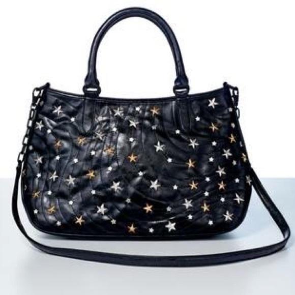 69% off Avon Handbags - PRICE DROP ❗ Star studded black bag ...