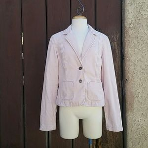 Light Pink Corduroy Jacket