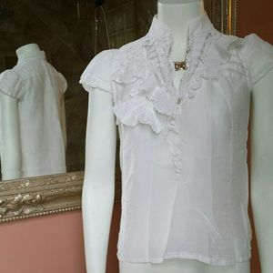 Banana Republic Silk/Cotton Blouse