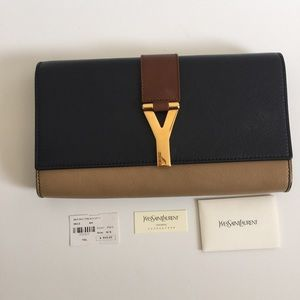 Yes Saint Laurent Chyc Colorblock Clutch