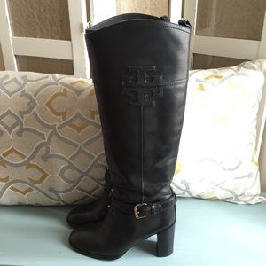 Tory Burch Blaire Heel Riding Boots