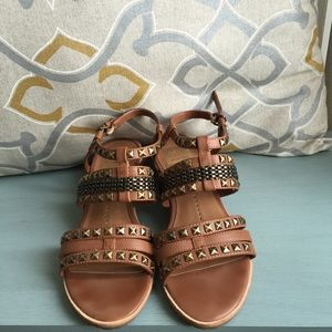 Anthropologie Dolce Vita Studded Sandals