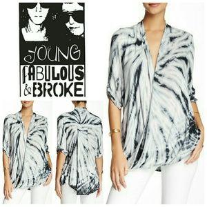 Young Fabulous & Broke Tops - Young Fabulous & Broke Print Top