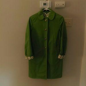 Green Coach Jacket Sz 2
