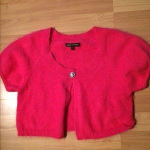 Express Angora pink sweater