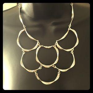 Brighton Jewelry - Brighton sterling silver mesh necklace