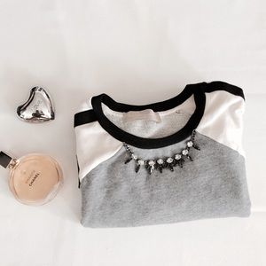 Zara color black sweater