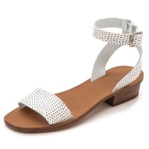Madewell Veronique Sandals in Snake Dot