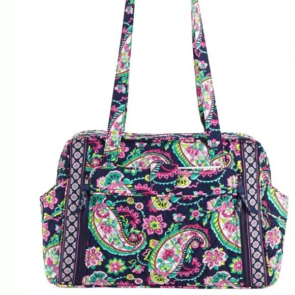dcabd0564c Vera Bradley Petal Paisley Baby Bag NWT
