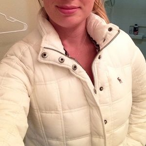 Abercrombie and Fitch down jacket