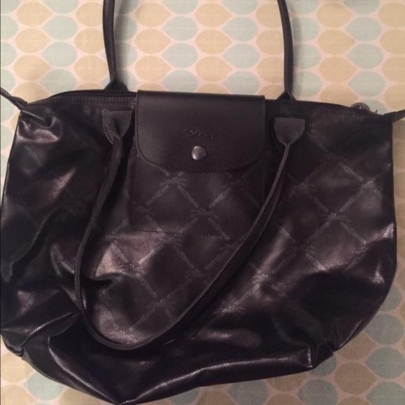 Longchamp Handbags - Longchamp LM metal handbag fd03f011b37fc