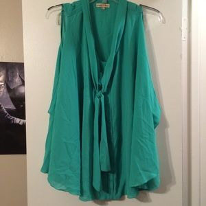 Altar'd State Tops - ALTAR'D STATE: Sea Foam Green Blouse