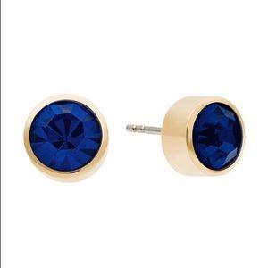 Michael Kors Whiskey Stud Earrings