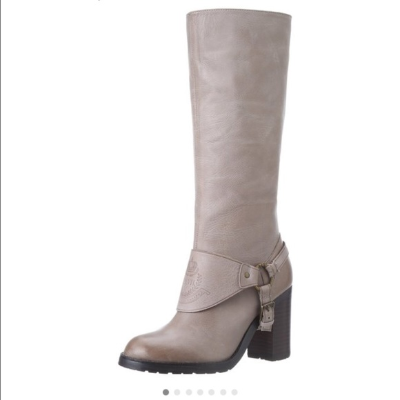 97f724cf0d7 Lauren Ralph Lauren Delsa Taupe Boots. M 5608a7aa3c6f9f6566005e98