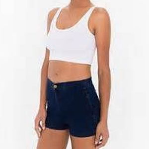 High Waisted Jean Shorts XS