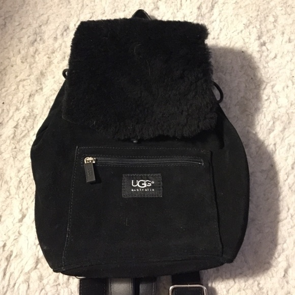82% off UGG Handbags - UGG black book bag purse from Rachel's ...