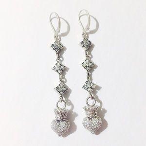 King baby studio Jewelry - King baby studio CZ dangle earrings