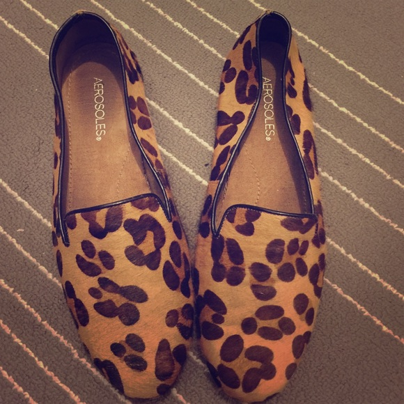 2ba908dd86cb AEROSOLES Shoes - Aerosoles Betunia Slip on loafer leopard print 9.5