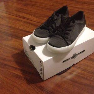 Black ALDO sneakers