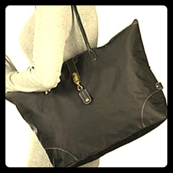 0e00dec3b168 JPK Paris Handbags - LOVESAC by JPK Paris 75 Black Zippered Tote Bag