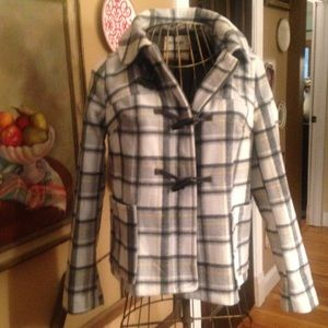 Wool plaid jacket SZ small