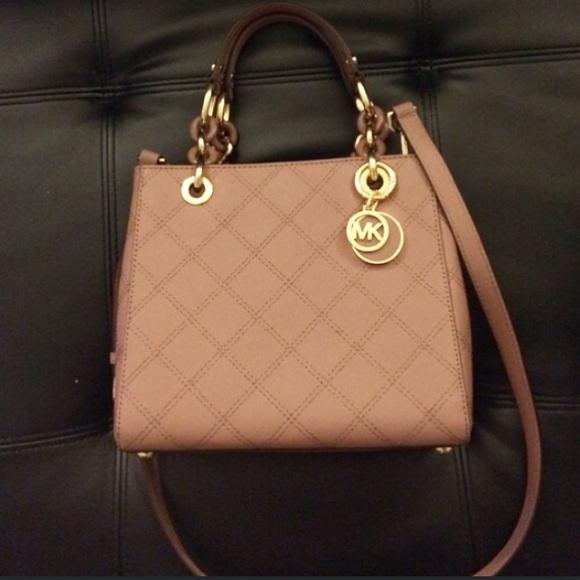2403056e9520 MICHAEL Michael Kors Bags | Michael Kors Cynthia Small Quilted ...