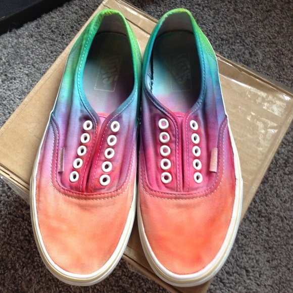 8e5fc357c1 DIY Tie Dye Vans. M 5609676b5c12f80325000d89. Other Shoes ...