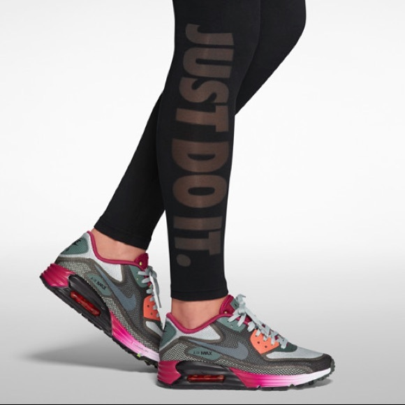Nike Pants - ❌RESERVED❌ Nike Leg-A-See See Through Just Do It M