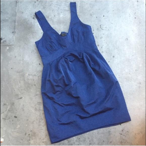 All Saints Dresses - ALL SAINTS Blue Back Cut Out Dress