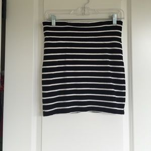 Forever 21 Skirts - Stripped mini skirt