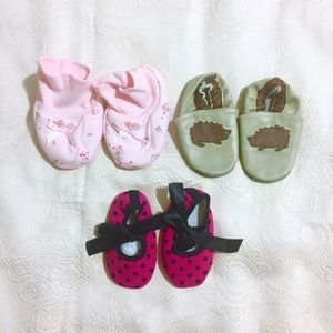 Other - NEW Baby Girl Shoes (9-12m)