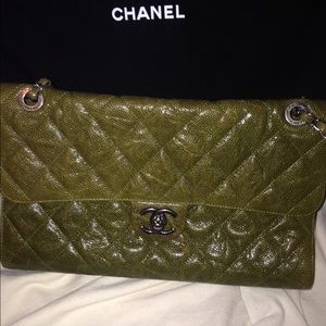 Authentic Chanel CC Crave Bag/Flap