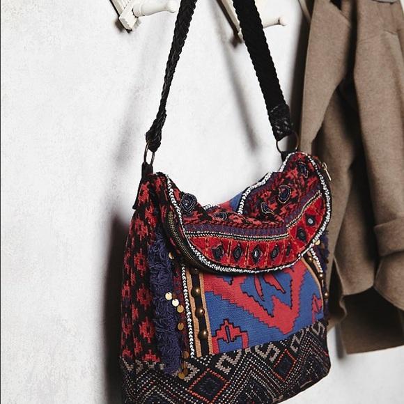 84c6ca3284 Free People Handbags - Free people Indian Summer hobo bag
