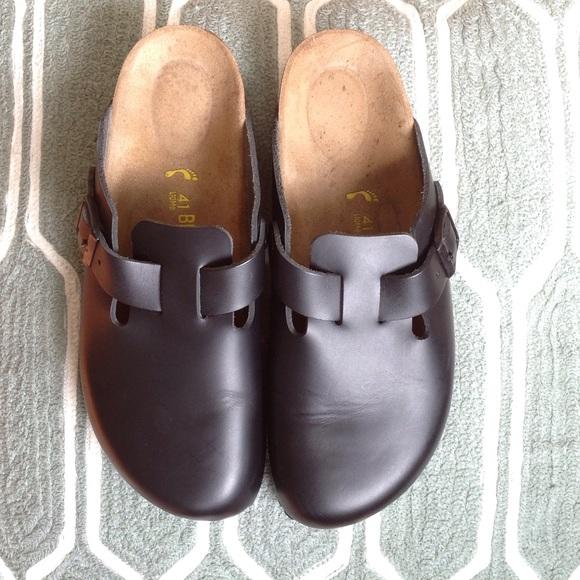 EUC Birkenstock loafers black