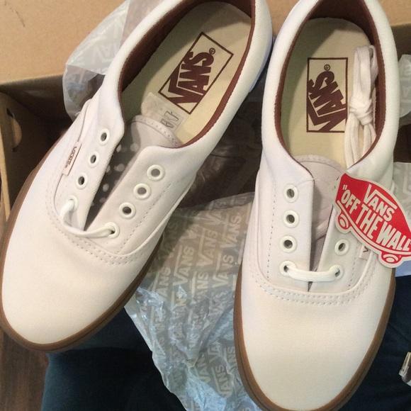 3e146b27a6 Vans Era Gumsole Shoe in True White