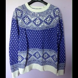 ASOS fair isle sweater