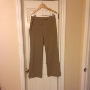 Isaac Mizrahi khaki dress pants