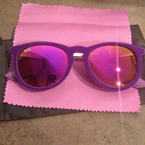 a7d61c3870 Velvet Erika Purple Ray Bans